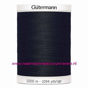 Gütermann Polyester 1000meter (coon / color 000