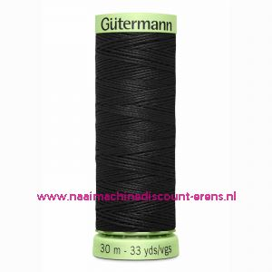 Gütermann Polyester 30meter (coon) / color 000