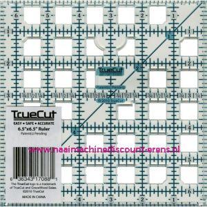 TrueCut Ruler 6 1/2 x 6 1/2-inch