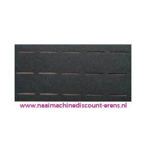 010000 / Plak-en-vouw-om 3,5 Cm Zwart