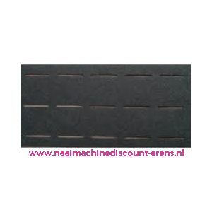 010002 / Plak-en-vouw-om 2,5 Cm Zwart