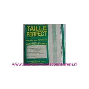 010006 / Taille Perfect vlieseline met extra versteviging 4,0 Cm Wit