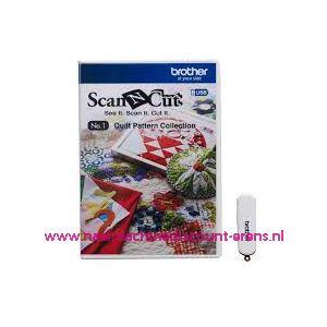 ScanNCut USB Nr. 1 Quilt patronen / 010092