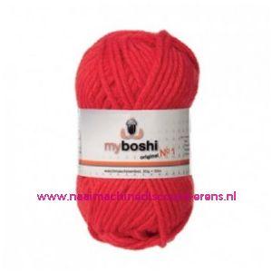 MyBoshi nr. 1 - 132 signaalrood / 010159