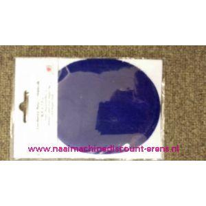 Kobalt blauw Rib Fluweel Elleboogstuk - 10336