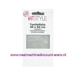 "010347 / Textielfolie ""Restyle"" 40 x 50 Cm"