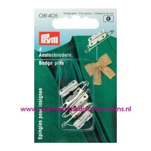 001040 / Corsagespeldjes IJzer, roestbestendig No.108/6 art.nr.081405