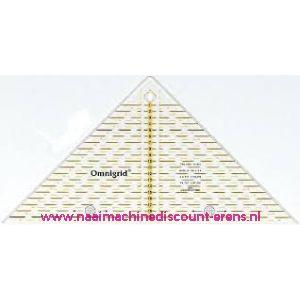OMNIGRID liniaal Quarter Square Triangle max 20 Cm 611313