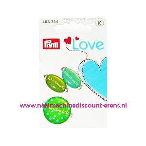 Prym Love Handmade pins groen prym art. nr. 403744 - 10462