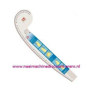 Boogliniaal armgat, mouwkop, schouder en hals Prym 611501
