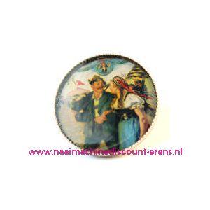 "Knöpfe . Postkartenmotive Art-Nr. 2585-95/40"" 6 Stuks - 10488"