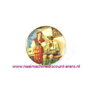 "010494 / Knöpfe . Postkartenmotive Art-Nr. 2872-95/28"" 6 Stuks"