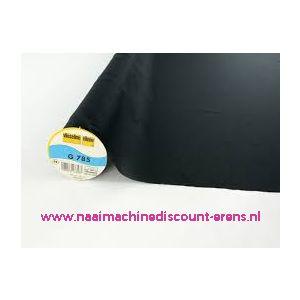 010756 / Vlieseline G 785 zwart