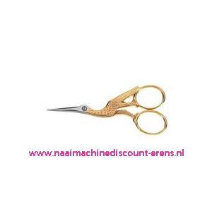 Ooievaarsschaartje Homeij art. nr.: 4318-09 Cm gesmeed/verni
