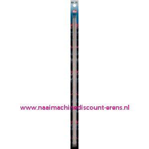 Kousenbreinaalden Staal Zilverkl.40 Cm 2,50 Mm art.nr.171205 / 001100
