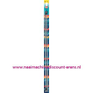 Breinaalden Alu Grijs 40Cm 4,00 Mm prym art. nr. 191476 / 001120