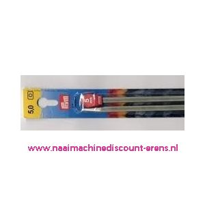 Breinaalden Alu Grijs 40Cm 5,00 Mm prym art. nr. 191478 / 001122