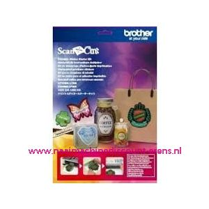 ScanNcut Printbare Stickerkit / 011255