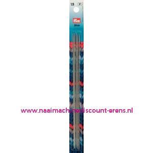 Kousenbreinaalden Alu Grijs 20Cm 1,50 Mm Prym art. nr.191484 / 001126