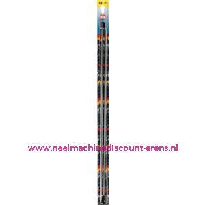 Breinaalden Alu Zilverkl.40Cm 4,00 Mm prym art. nr. 191611 / 001136