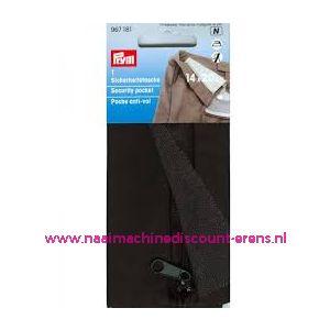 Veiligheidsbroekzak / tas met ritssluiting prym art. 967181 - 11486