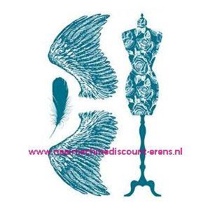 Stempelserie Fournituren TWO art. nr. 7038.40.14 - 11552