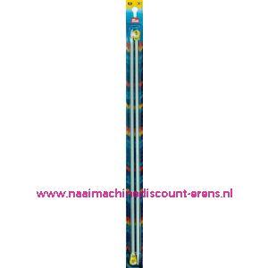 Breinaalden Alu Grijs 40Cm 6,50 Mm prym art. nr. 191482 / 011581