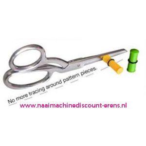 011592 / Magnetische afstandsgeleider voor scharen