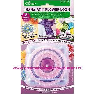 Clover Hana-Ami Flower Loom 6 maten art.nr. 3146