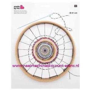 RICO Rond weefraam 21 cm doorsnede art.nr. 500015.552 12 Mm / 011829