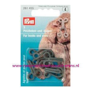 Bonthaken En-Ogen St Grijs prym art.nr. 261455 - 1199