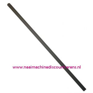 Liniaal 60cm Aluminium Flexibel