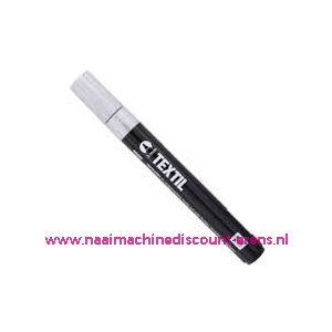 "Textile Marker Light Fabric White ""RICO"" - 12272"