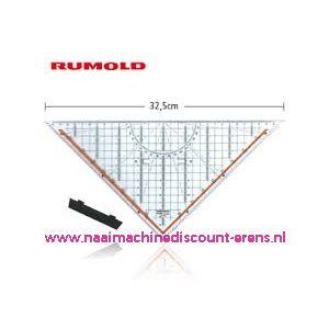 Rumold Technisches Zeichendreieck - 32,5cm -