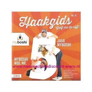 Myboshi Haakgids nr 10 - Geef me de vijf! - 12312