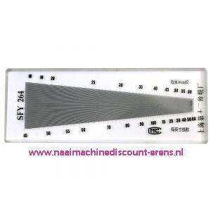 Schering en inslagteller - SFY 264 - LUXE uitvoering