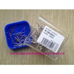 012398 /  Hobby spelden Nikkel  99 stuks ( 18x0,65 mm)
