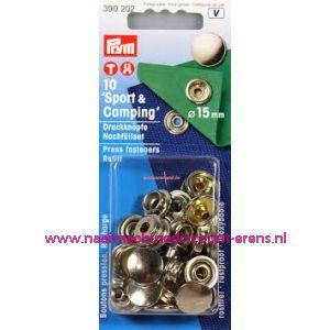 001284 / Navullingen Ms Voor 390201 Zilverkl.15 Mm Prym art.nr.390202