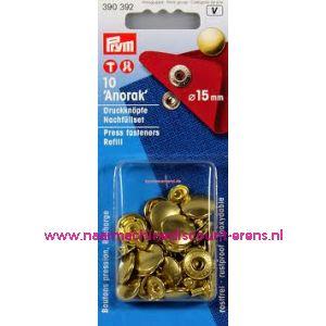 001316 / Navullingen Voor 390314 Goudkleurig 15 Mm Prym art.nr.390392