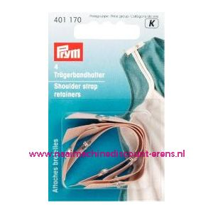 001335 / Schouderbandhouders Huidskleur Prym art. nr. 401170