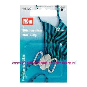 001359 / Ceintuur-En Bikinisl. Matzilver 12 Mm Klaverblad nr.416120