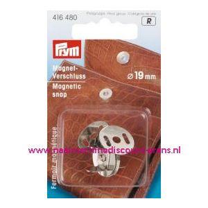 Magneetsluiting Zilverkleurig 19 Mm Prym art.nr. 416480