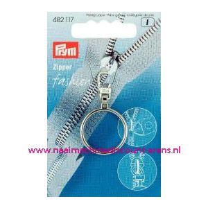 001397 / Modische Schuiver Ring Zilverkleurig Prym art. nr. 482117
