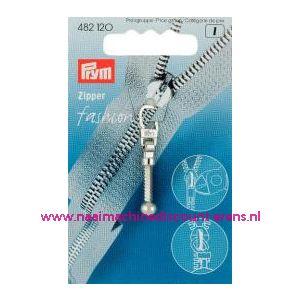 001398 / Modische Schuiver Flex Zilverkleurig Prym art. nr. 482120