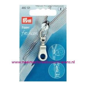 001399 / Modische Schuiver Ring Zilverkleurig Prym art. nr. 482121