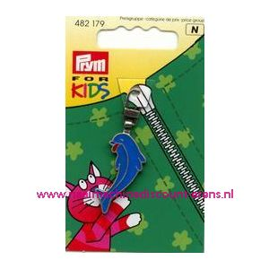 001407 / Ritsenschuiver Dolfijn For Kids Prym art. nr. 482179