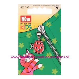Ritsenschuiver Lieveheersbeestje For Kids Prym art.nr.482183 - 1408