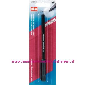 Markeerstift Permanent Zwart Prym art. nr. 611803 - 1500