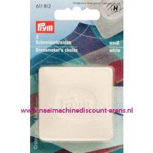 001506 / Kleermakerskrijt Wit Prym art. nr. 611812