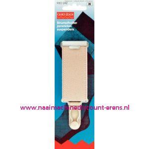 001565 / Jarretel Veloursband Met 30 Mm Huidskleurig art. nr. 930242